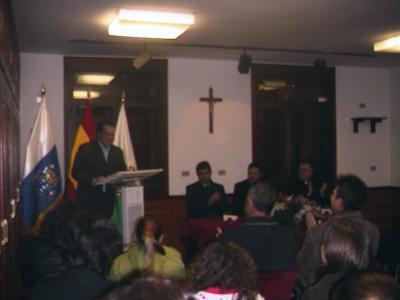 Premio Antonio Pereira Pacheco y Ruiz de Cultura 2008 - Palabras de Gabriel Santos, Presidente del Foro