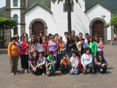 Estudiantes de Funchal, visitan Tenerife de la mano del Foro